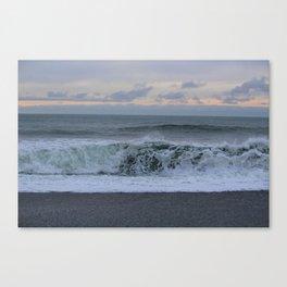 Pacific Northwest Waves Canvas Print