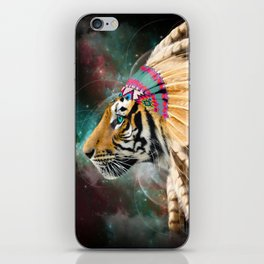 Fight For What You Love (Chief of Dreams: Tiger) Tribe Series iPhone Skin