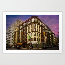 Mulberry & Broome, NYC Art Print