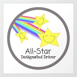 Designated Driver Art Print