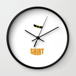 This is my St. Patricks Day Shirt Wall Clock