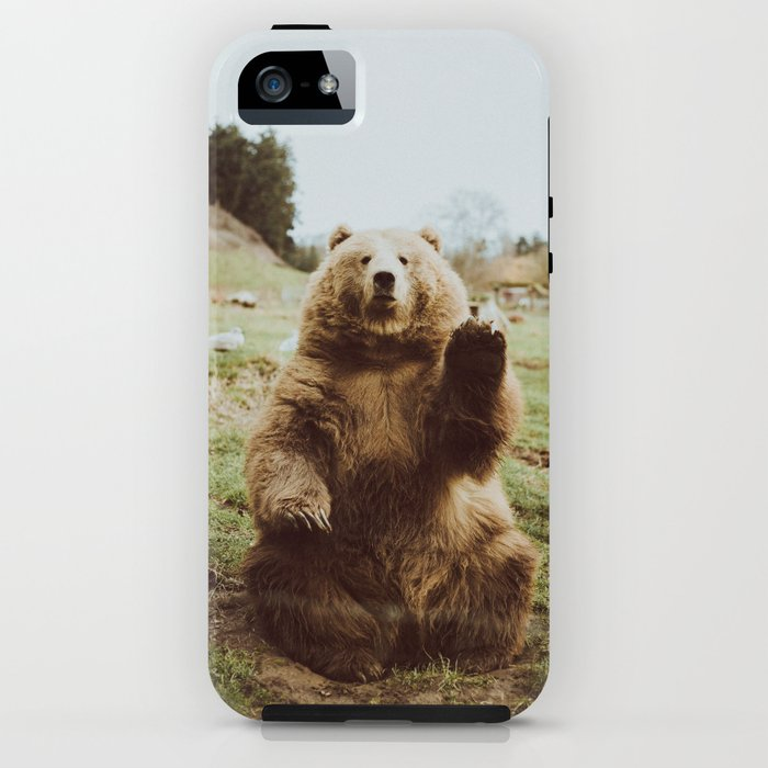 Hi Bear iPhone Case