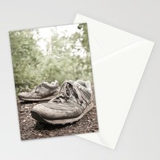 shoes for a decade, not for a year Stationery Cards