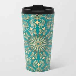 Mandala Project 265 | Gold Metal Travel Mug