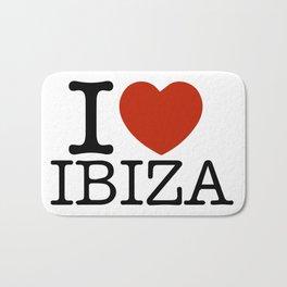 I love Ibiza Bath Mat