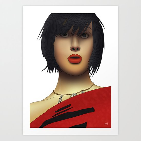 Karen O (Yeah Yeah Yeahs) Art Print