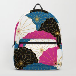 Japanese Chrysanthemum 2 Backpack
