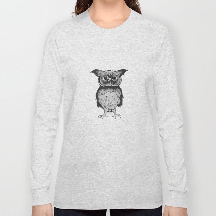 Small Owl Long Sleeve T-shirt