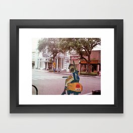 haruko (FLCL) (St.petersburg FL) Framed Art Print