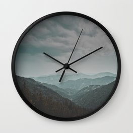 Wander forever my love (nature) Wall Clock