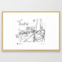 "Benedetta Dossi, ""Trieste"" Framed Art Print"