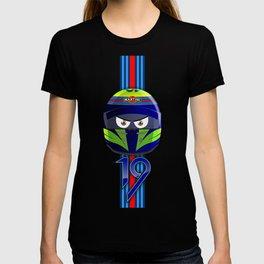 FELIPE MASSA_2014_HELMET #19 T-shirt