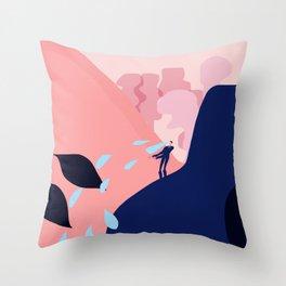 If I had seams Throw Pillow