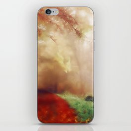 Tip Toe Through The Forest iPhone Skin