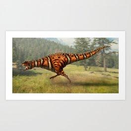 Carnotaurus sastrei Restored Art Print