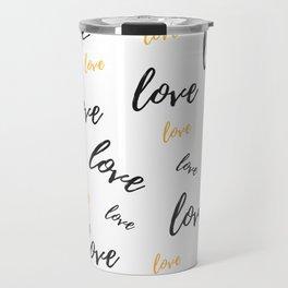 Multiple Love Travel Mug