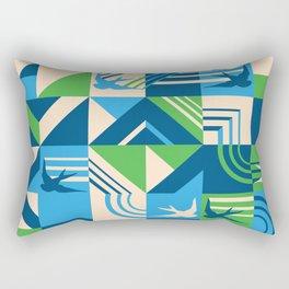 migrate Rectangular Pillow
