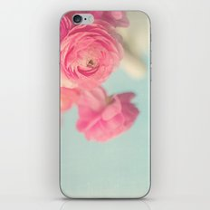 Cotton Candy, Pink Ranunculus iPhone & iPod Skin