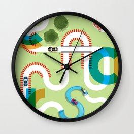 C A R S Wall Clock