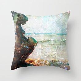 Aqua Magicae Throw Pillow