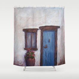 Favorite Things in Ibiza AC150711a Shower Curtain