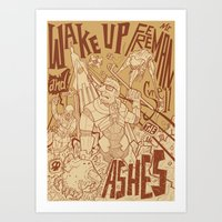 half life Art Prints featuring Half Life 2 tribute by Matteo Cuccato - Strudelbrain