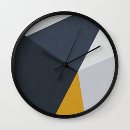 Contemporary art XII Wall Clock