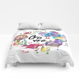 Go veg Comforters