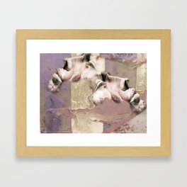 Calcination Framed Art Print
