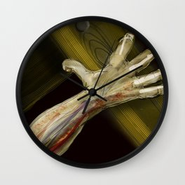 Pick Up Your Cross Wall Clock