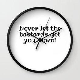 Get You Down Wall Clock