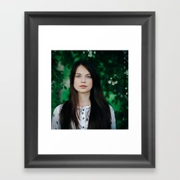 in her eyes Framed Art Print