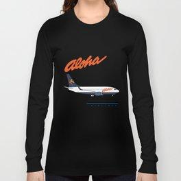 Aloha Airlines 737 Long Sleeve T-shirt