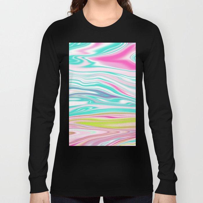 Iridescent Marble 12 Long Sleeve T-shirt