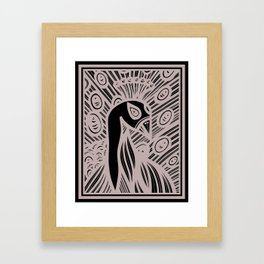 Abundant Crystal Natural Framed Art Print