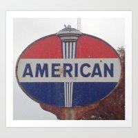 american Art Prints featuring American by Jonni R. Webb