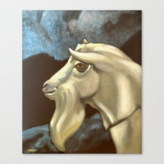 Night of The Billy Goat Canvas Print