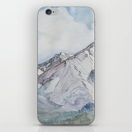 Spring  on Mount Sopris iPhone Skin