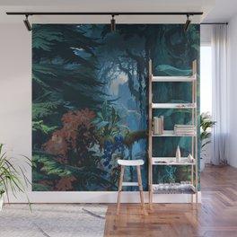 Jungle Sidewall by Joseph Fuchs Wall Mural