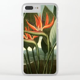 Birds of Paradise : Temple of Flora Clear iPhone Case