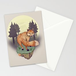 Snoqualm Fox Stationery Cards