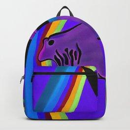 Sad Unicorn Backpack