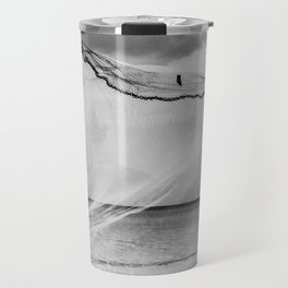 Casting the net Travel Mug