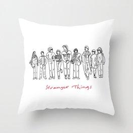 Friends Don't Lie (Black) Throw Pillow