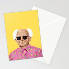 The Israeli Hipster leaders - David Ben Gurion Stationery Cards