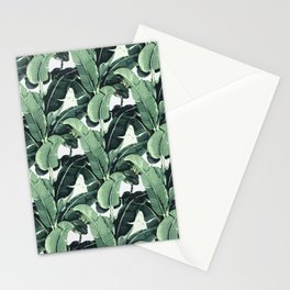 Tropical Banana Leaf Stationery Cards