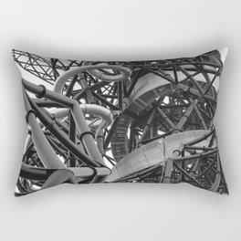 arcelor mittal orbit, london Rectangular Pillow