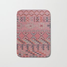V21 New Traditional Moroccan Design Carpet Mock up. Bath Mat