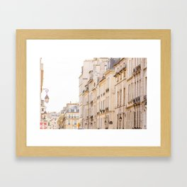 La Rue, Paris, France Framed Art Print
