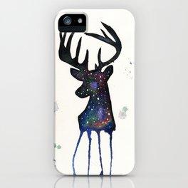 Spirit Nebula Stag iPhone Case